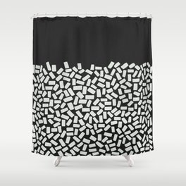 Half Empty or Half Full? Shower Curtain