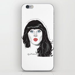 Zooey iPhone Skin