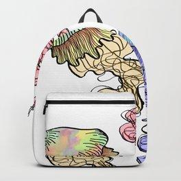 triplets in color Backpack
