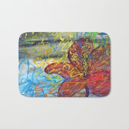 Stomach full of color Bath Mat