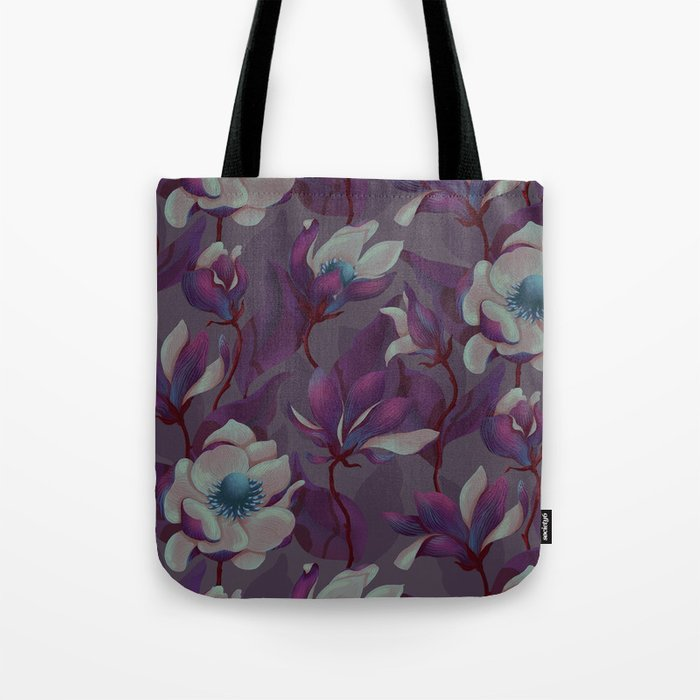 magnolia bloom - nighttime version Tote Bag