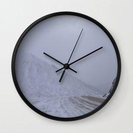 Atigun Pass Wall Clock