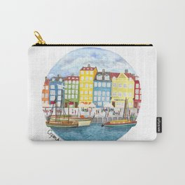 Copenhagen Watercolour Carry-All Pouch