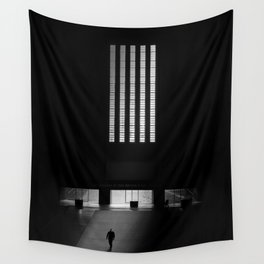 black white photo Wall Tapestry