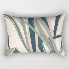 Colorful Plant Rectangular Pillow