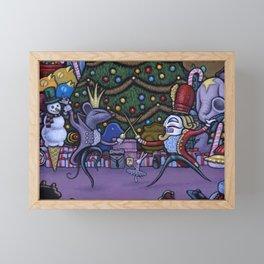 Tippytoes Nutcracker Framed Mini Art Print