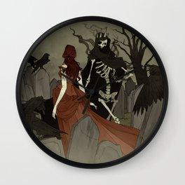 Danse Macabre Wall Clock