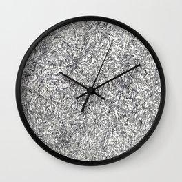 ' Facez II ' By: Matt Crispell Wall Clock