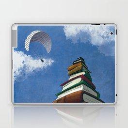 Paragliding - Mountain of Books Laptop & iPad Skin