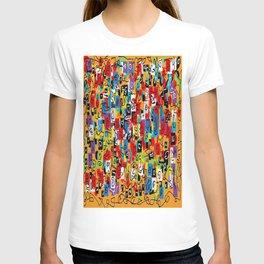 Laberinto multicolor T-shirt