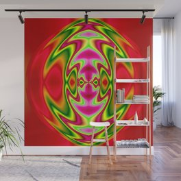 Time Heart Abstract Wall Mural