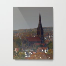 St Chad, Far Headlingley Metal Print