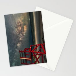 Milkyway at Good Harbor Beach 6-11-18 Stationery Cards