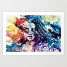 like wildfire Art Print