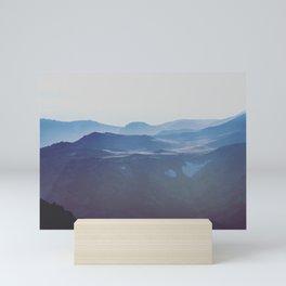 The Tops of Mountains Mini Art Print