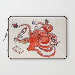Olive the Octopus Barista Laptop Sleeve