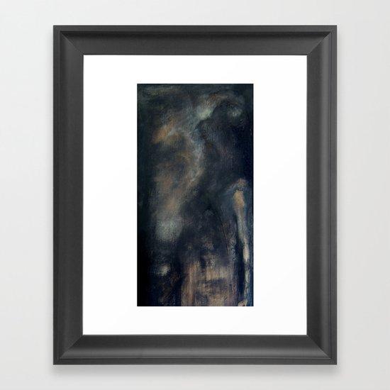 l'ombre de ton ombre Framed Art Print