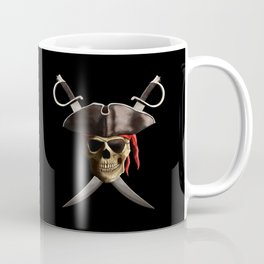 Pirate Skull And Swords Coffee Mug