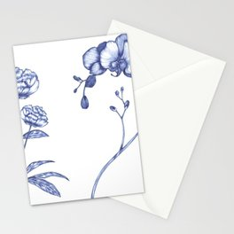 favourite flowers Stationery Cards