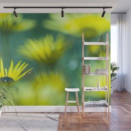 The beauty of yellow daisies II Wall Mural