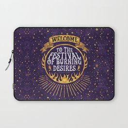 Daughter of the Burning City - Amanda Foody - Purple Laptop Sleeve