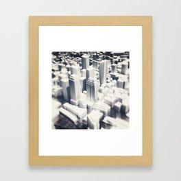 Cityscape Mini Framed Art Print