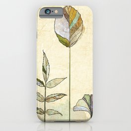Leaf Study iPhone Case