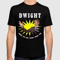 Dwight Schrute  |  The Office Mens Fitted Tee MEDIUM Black