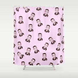 "Robbie ""Candy"" Shower Curtain"