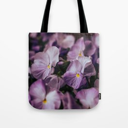Violet and Purple Tote Bag