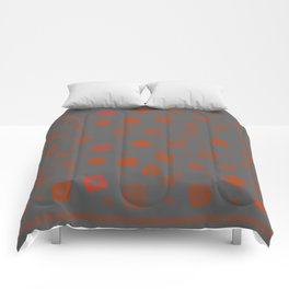 Ethnic Mosaic II Comforters