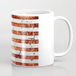 Painted Stars And Stripes Coffee Mug