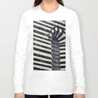 striped Long Sleeve T-shirts featuring Striped by farsidian