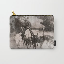 Going To The Dogs Carry-All Pouch