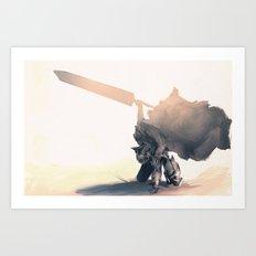 Berzerk Art Print