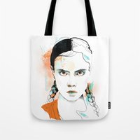 cara Tote Bags featuring Cara by Claire.H