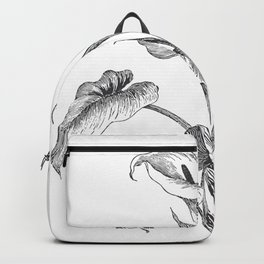 Vintage Calla Lily Bush Backpack