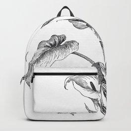 Vintage Calla Lily Bush Backpack