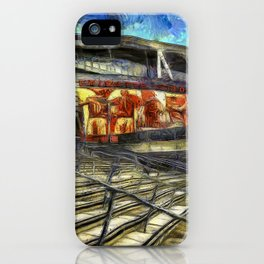 Arsenal FC Emirates Stadium Van Gogh iPhone Case