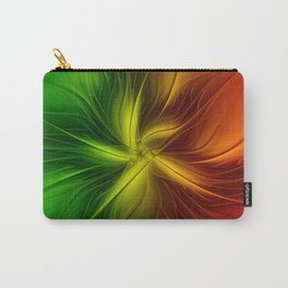 Christmas Colors, Abstract Fractal Art Carry-All Pouch