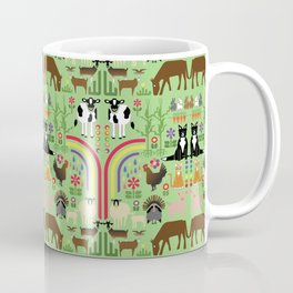 Noah's Farm Animals Coffee Mug