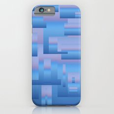 blue modern Art iPhone 6s Slim Case