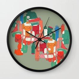 body interaction Wall Clock