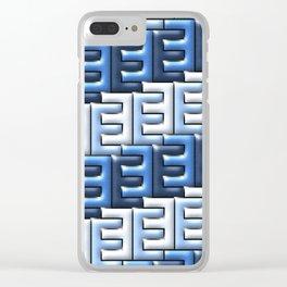 Geometrix XXI Clear iPhone Case