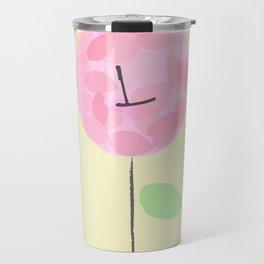Flower L Travel Mug