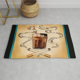 Cigarettes and Chocolate Milk Rug