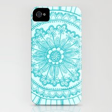 doodles iPhone (4, 4s) Slim Case