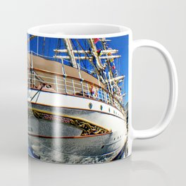 Norwegian sailship Statsraad Lehmkuhl Coffee Mug