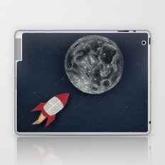 Rocket to the Moon Laptop & iPad Skin
