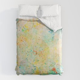 Abstract Artwork Colourful #11 Comforters